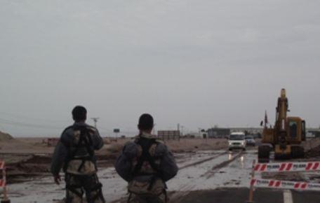 Chile cierra la frontera con Perú por la aparición de minas puestas en la dictadura