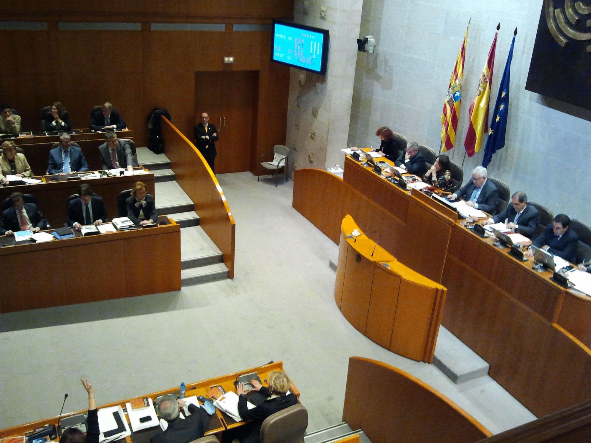 Las Cortes aprueban definitivamente el Presupuesto de 2012, que asciende a más de 5.300 millones