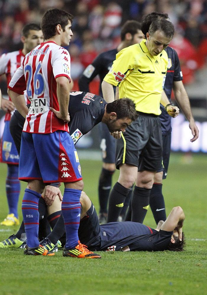 Diego sufre una rotura fibrilar en el cuádriceps y es baja segura esta semana