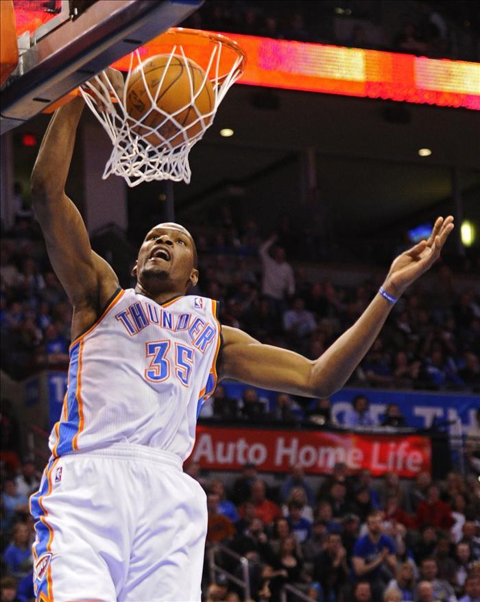 Durant establece marca, Heat y Knicks imparables, pierden Celtics y Lakers