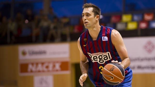 Eidson (Barcelona), entre tres y cuatro semanas de baja por un esguince en la rodilla