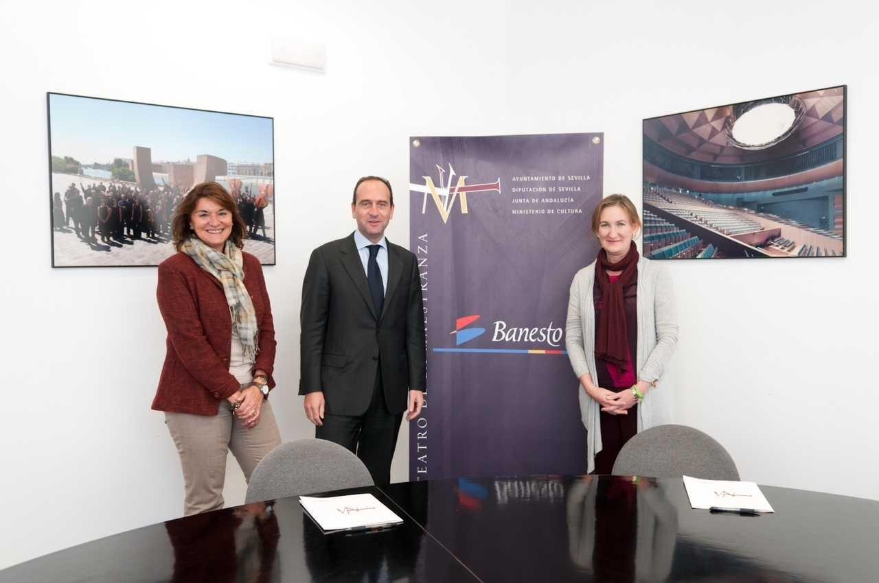 Fundación Banesto y Teatro Maestranza renuevan su convenio de patrocinio para la temporada 2011-2012