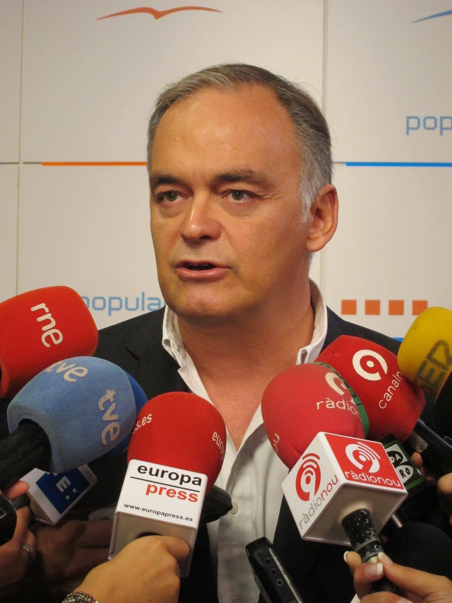 González Pons, sastisfecho porque hace lo que hacía pero con una responsabilidad «nueva» y «más importante»