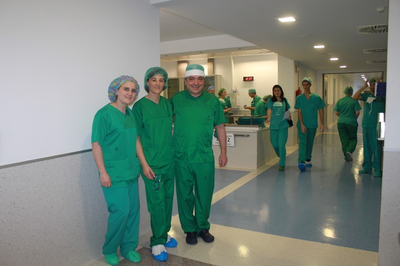 El Hospital de Santa Lucía ensaya nuevas técnicas pioneras de cirugía ortopédica infantil