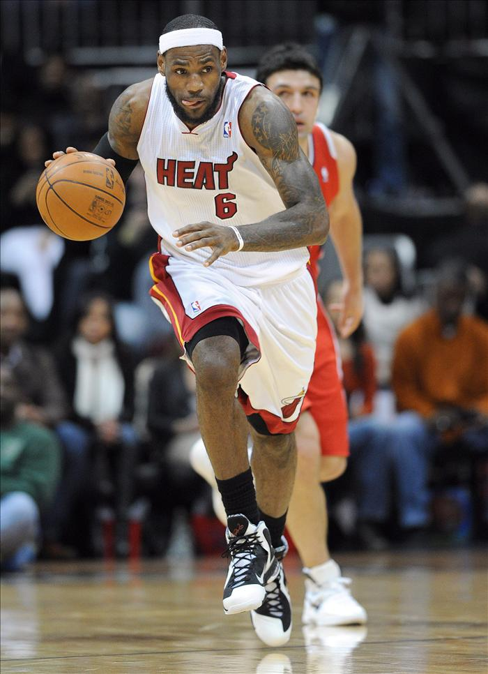 James y Durant, jugadores de la semana en la NBA
