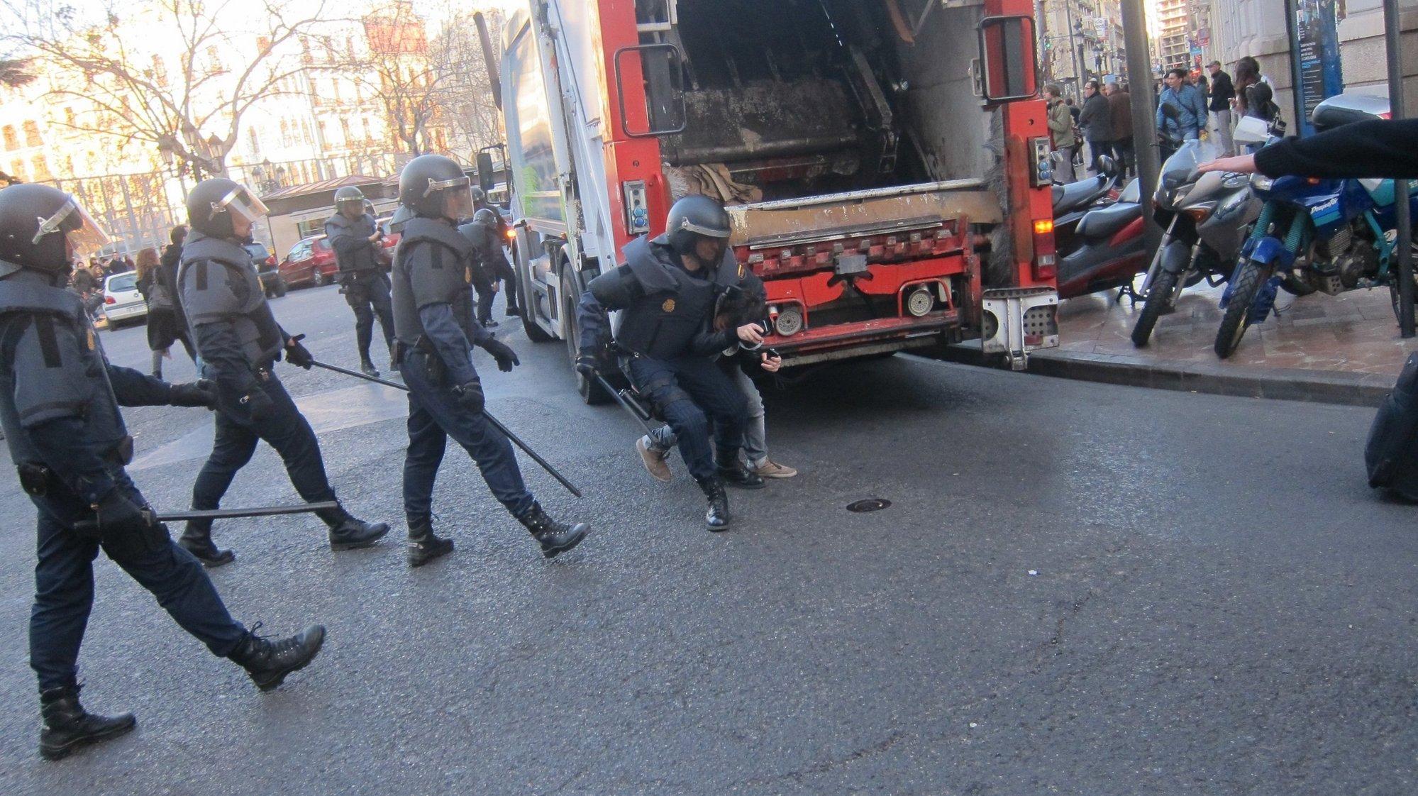 Jefe de Policía ve «proporcionada» la acción policial y dice que los agentes intentan dialogar «hasta la saciedad»