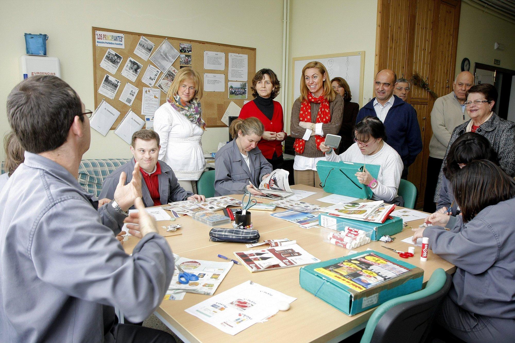 Mazas ratifica el apoyo del Gobierno de Cantabria a los centros especiales de empleo de AMICA