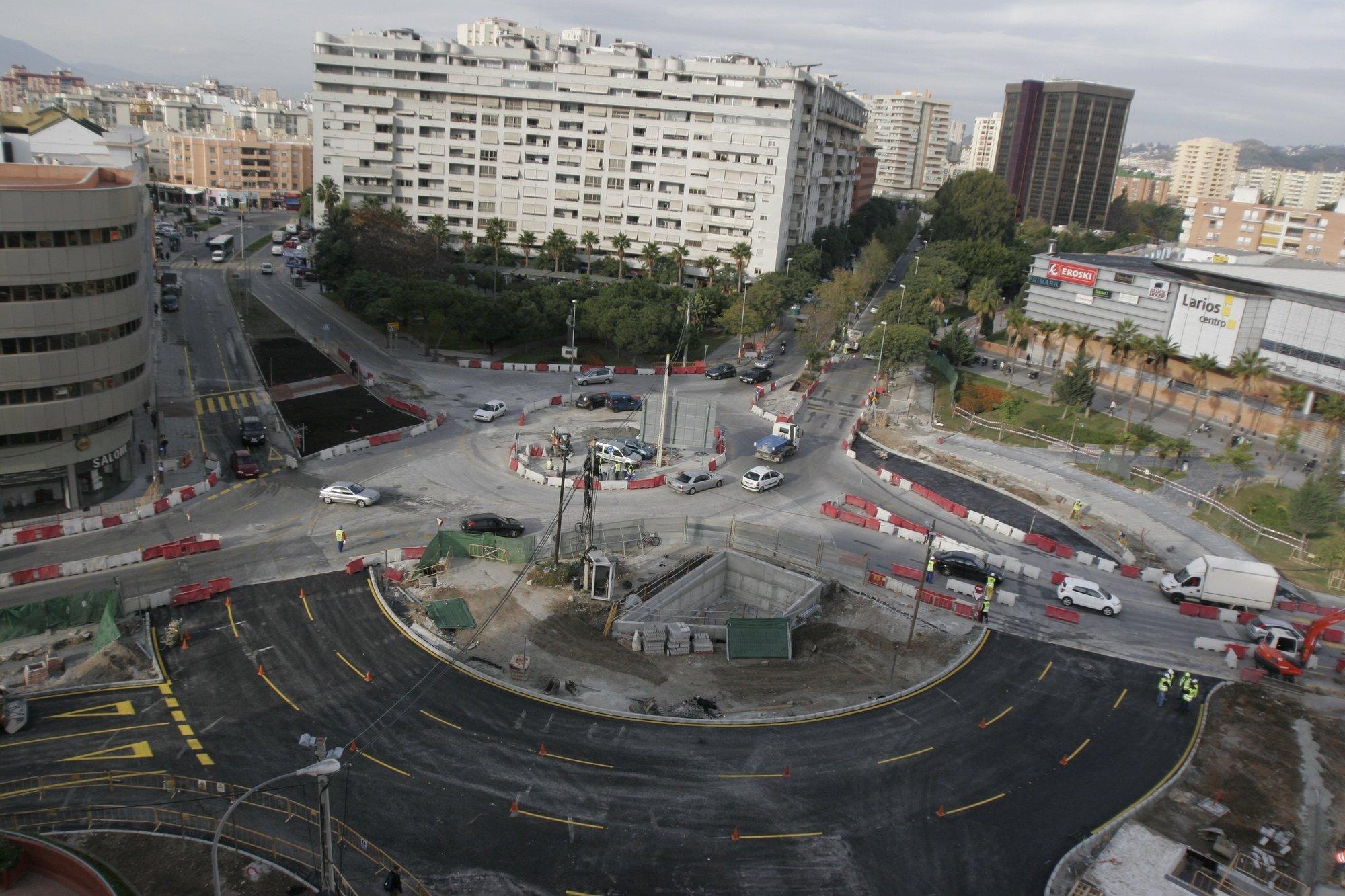 Metro de Málaga reabre al tráfico las calles Mendívil y Eslava tras recibir la autorización del Ayuntamiento