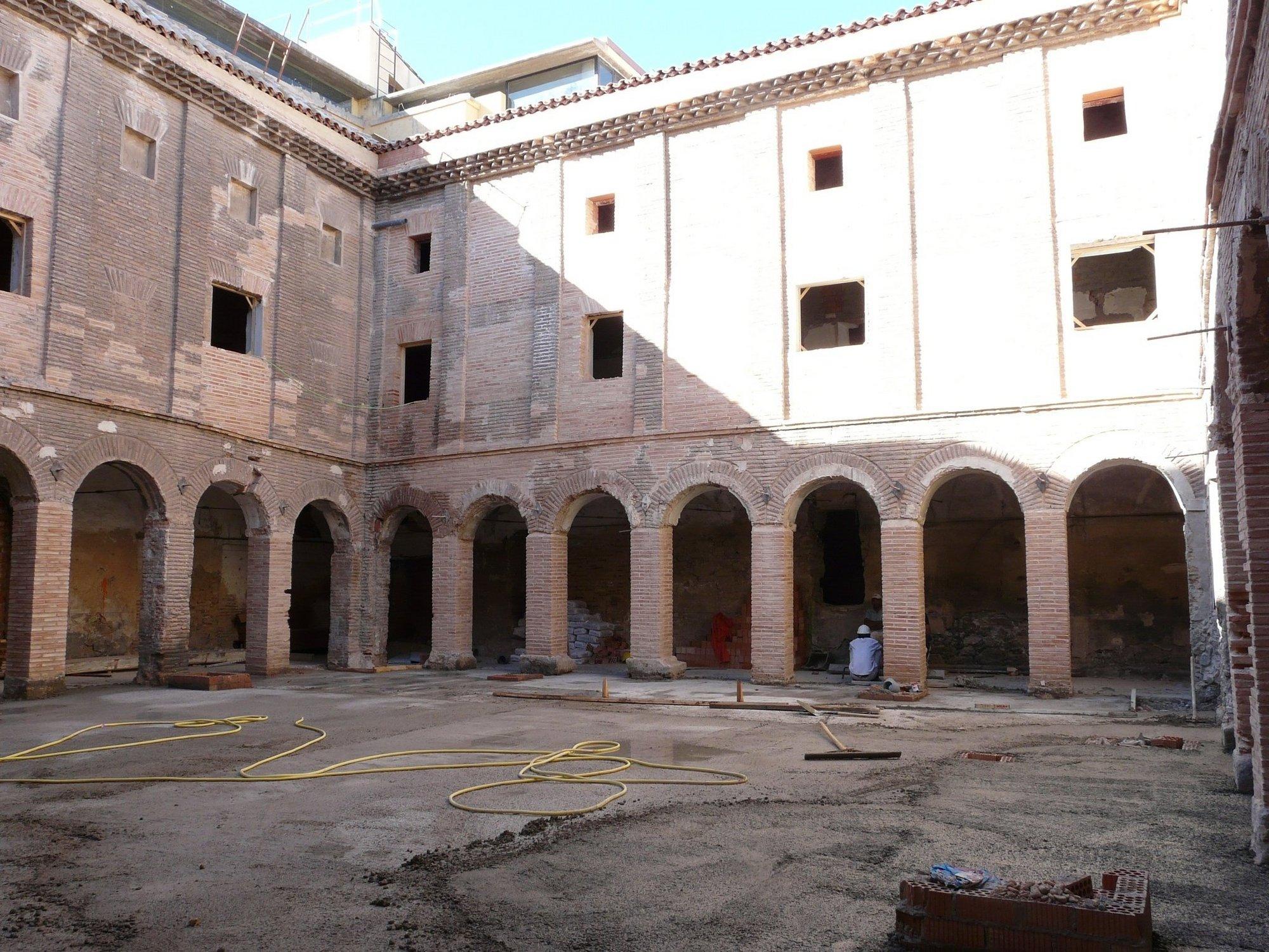 PSOE propone cubrir el patio interior de Seminario de Nobles de Calatayud para dar mayor utilidad al espacio
