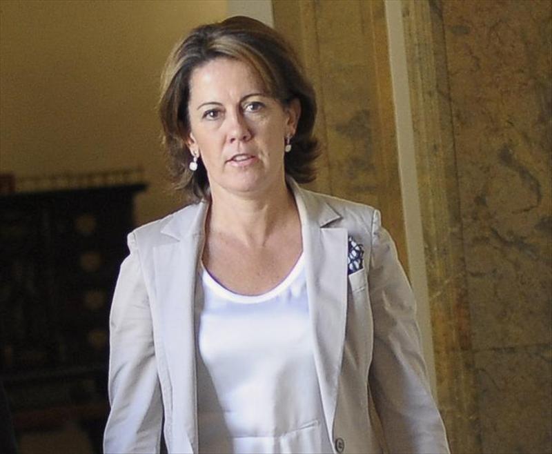 El juez Pedraz imputa a una cuarta persona por los «tartazos» a Yolanda Barcina