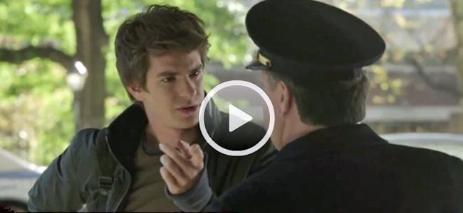 El pardillo Peter Parker en el nuevo clip de The Amazing Spider-Man