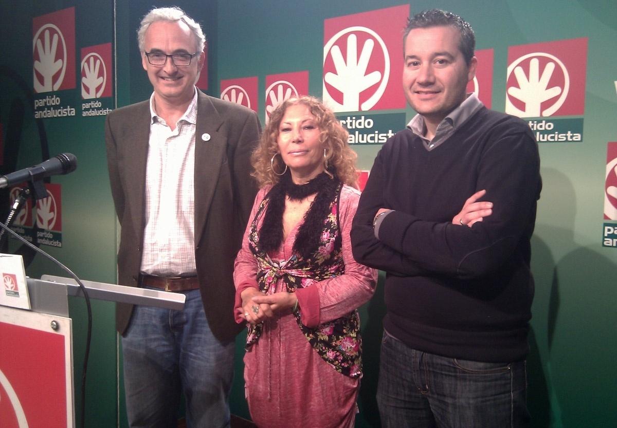 Pilar Távora, número dos de la candidatura de Álvarez-Ossorio al Parlamento por el PA