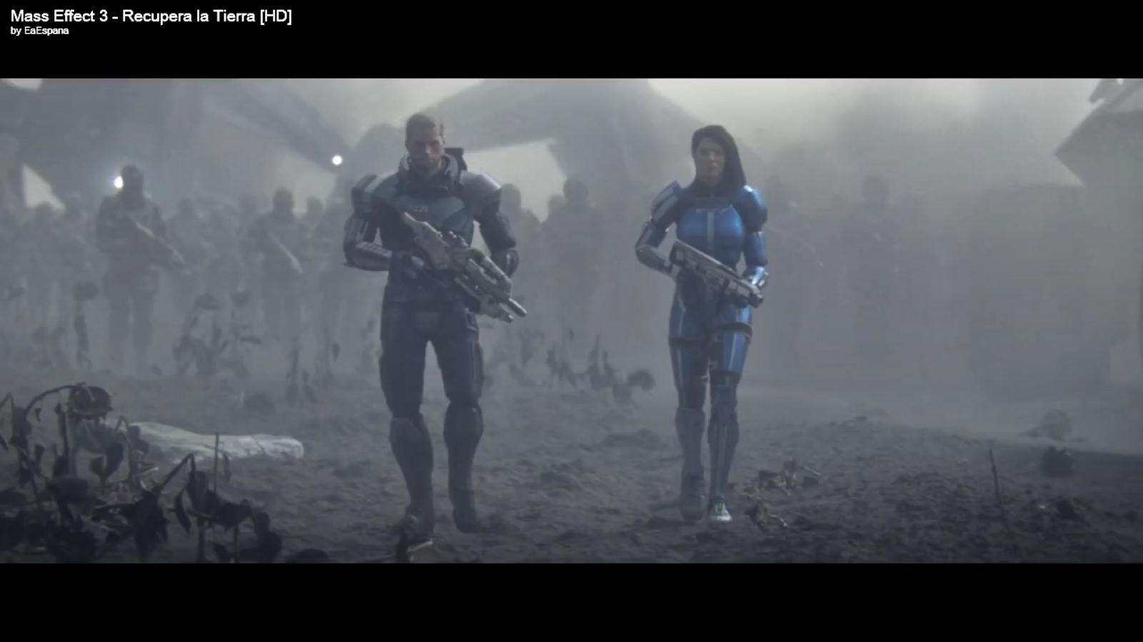 'Recupera la Tierra', nuevo tráiler cinemático de Mass Effect 3