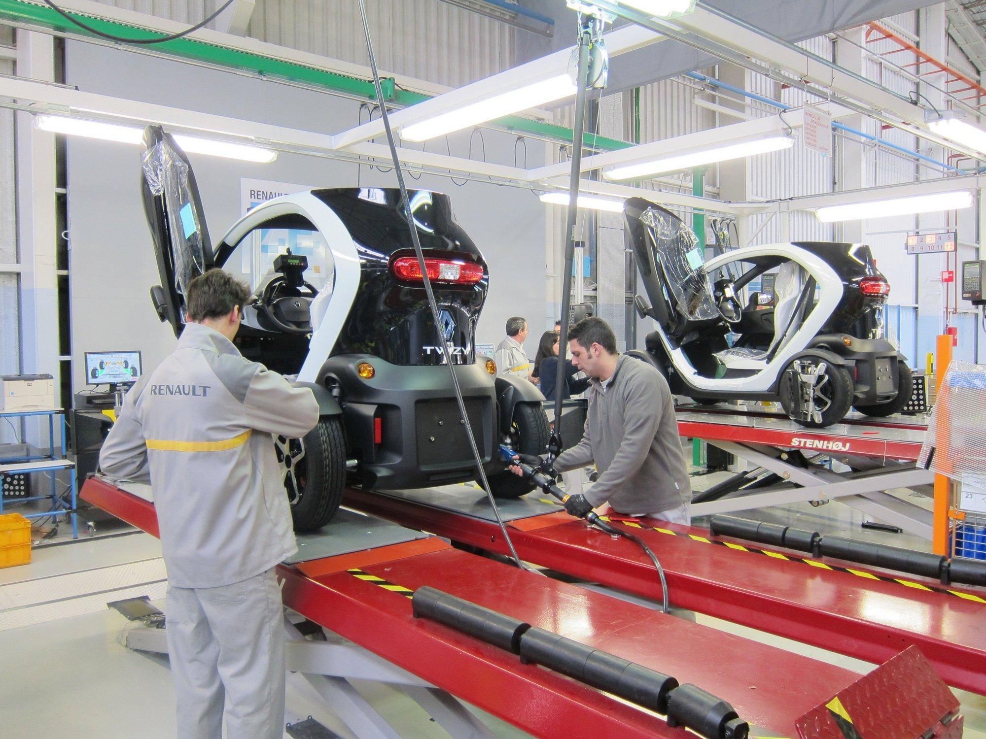 Renault inicia la producción del Twizy en Valladolid y crea cien puestos de trabajo