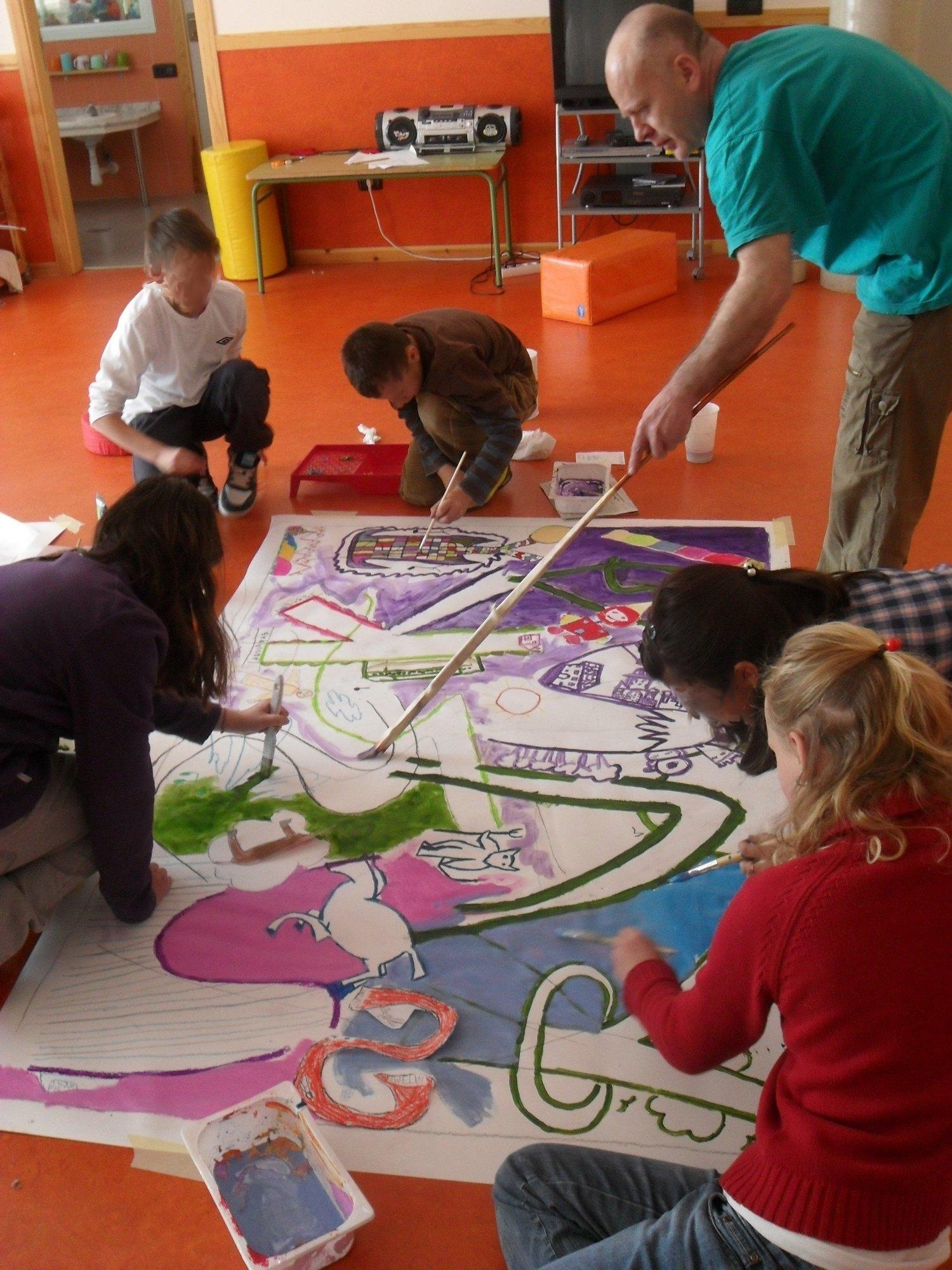 Los alumnos del colegio »Pedro Sánchez Ciruelo» de Daroca se acercan al mundo del arte en su Semana Cultural