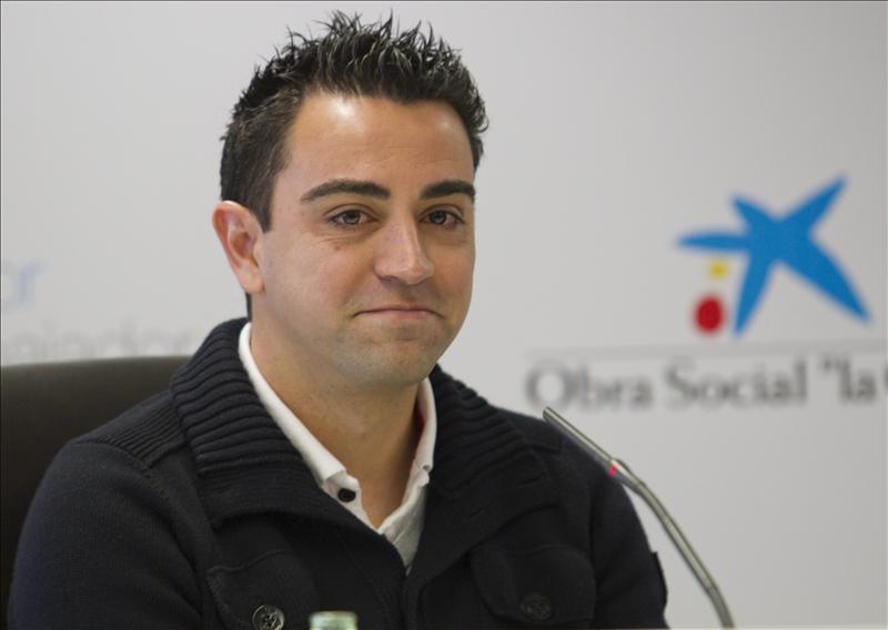 Xavi Hernández, embajador de la Obra Social La Caixa