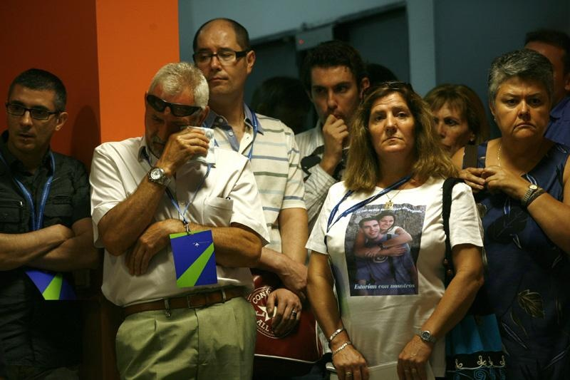 Acc.Las víctimas celebran el compromiso de Gallardón de elaborar una guía para casos de accidentes aéreos