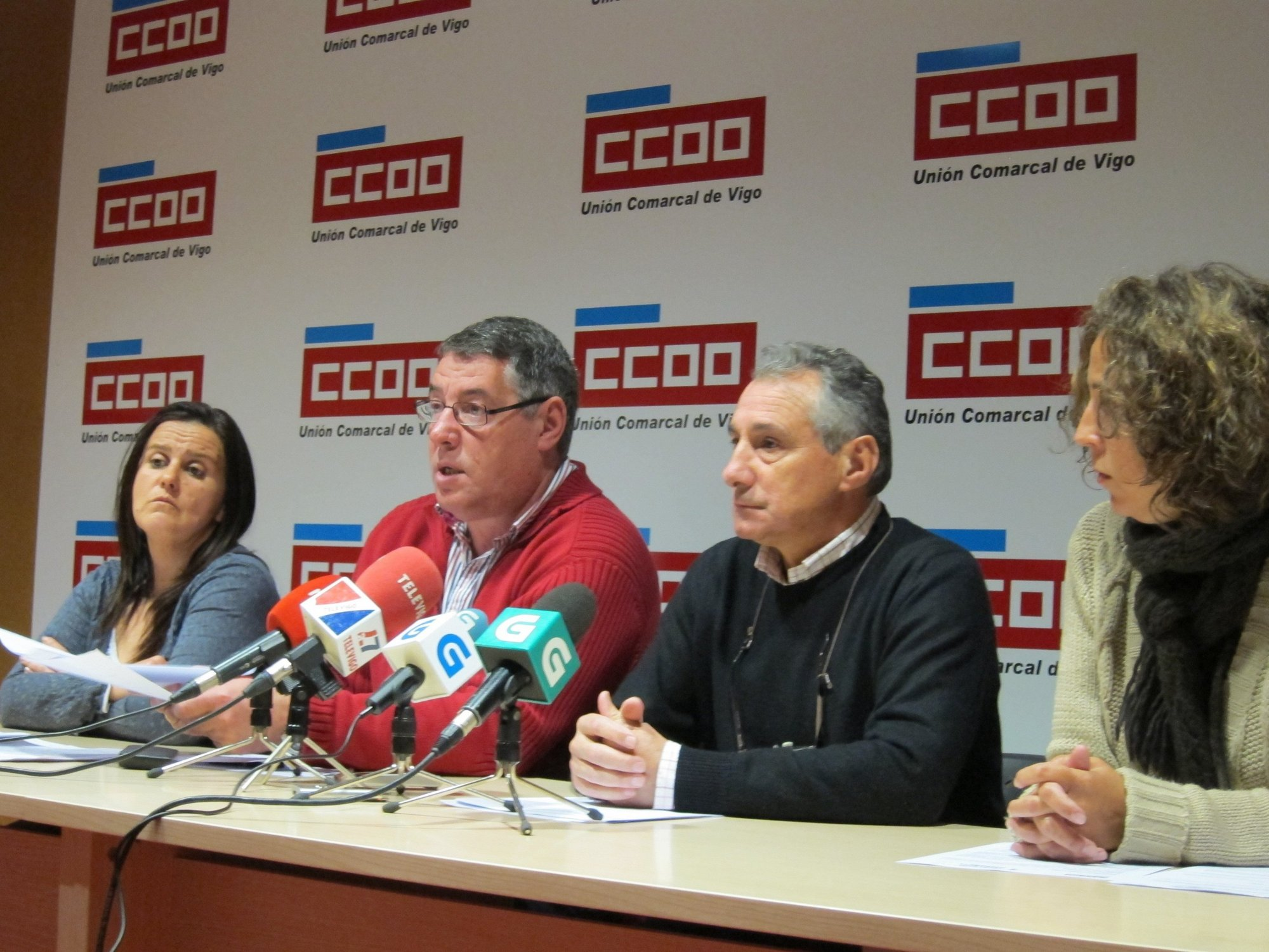 CC.OO. denuncia los incidentes y asegura que mantendrá el contencioso contra las oposiciones del Ayuntamiento de Vigo