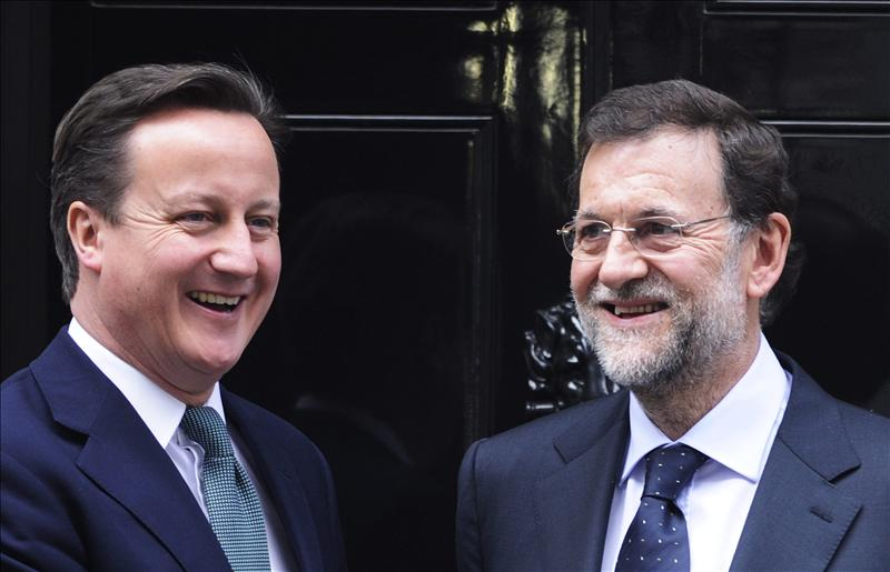 Cameron destaca la sintonía con España sobre Irán y Siria