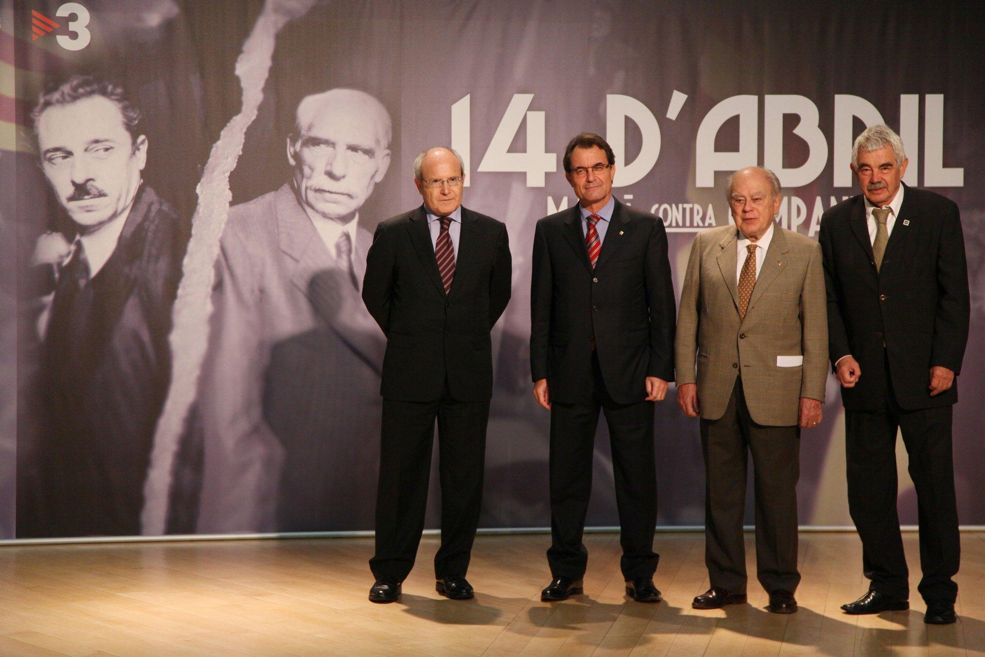 CiU presenta una enmienda a la totalidad a modificar el estatus de los expresidentes catalanes