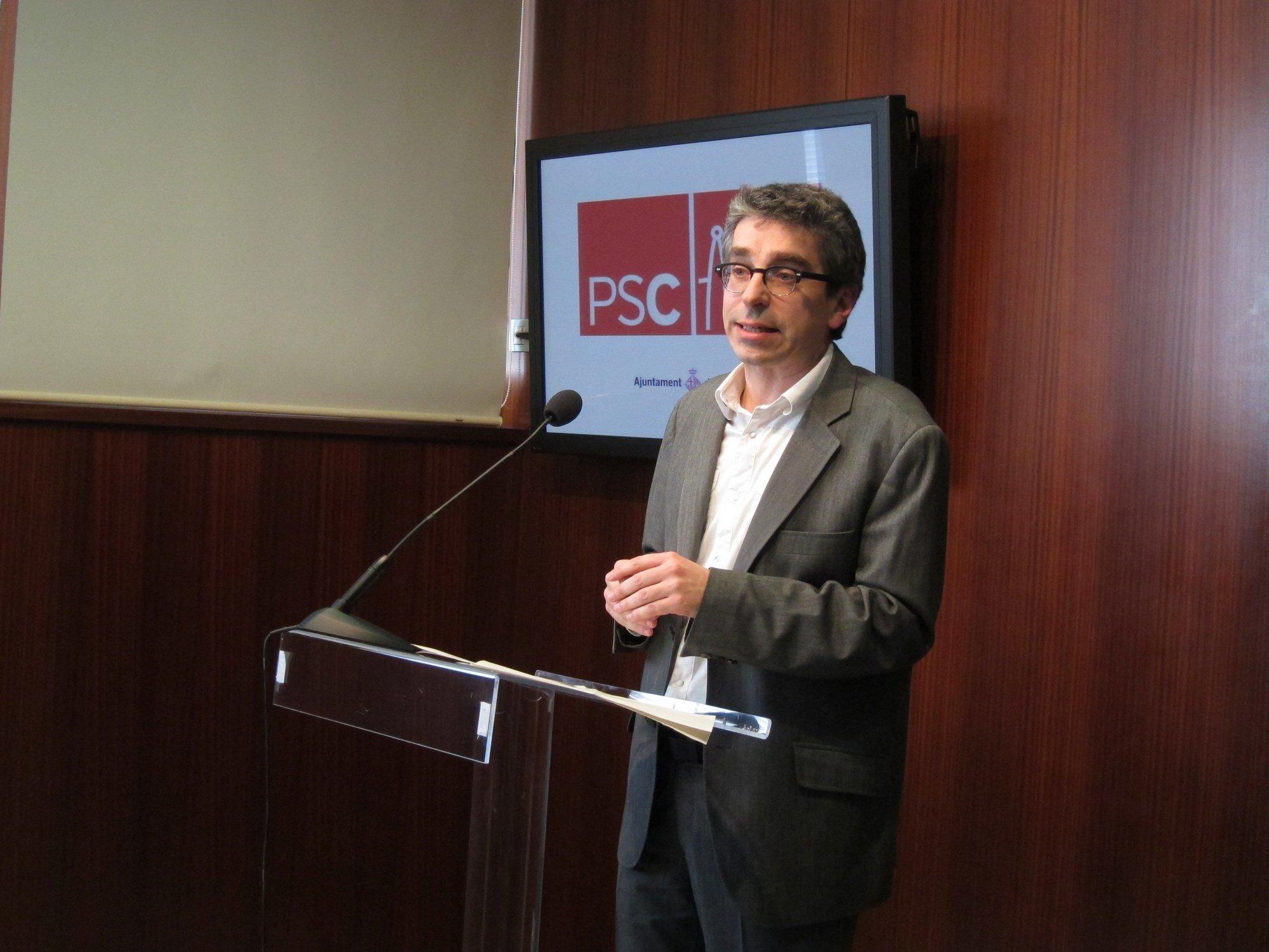Colomé sustituye a Escarp como portavoz del PSC en el Ayuntamiento de Barcelona
