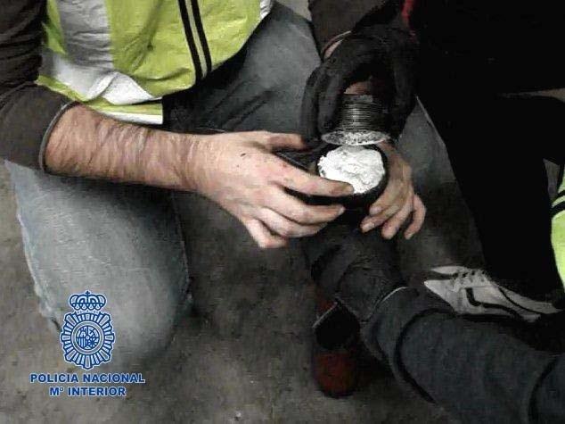 Desarticulado en Alicante un grupo que transportaba a Reino Unido cocaína oculta en vehículos