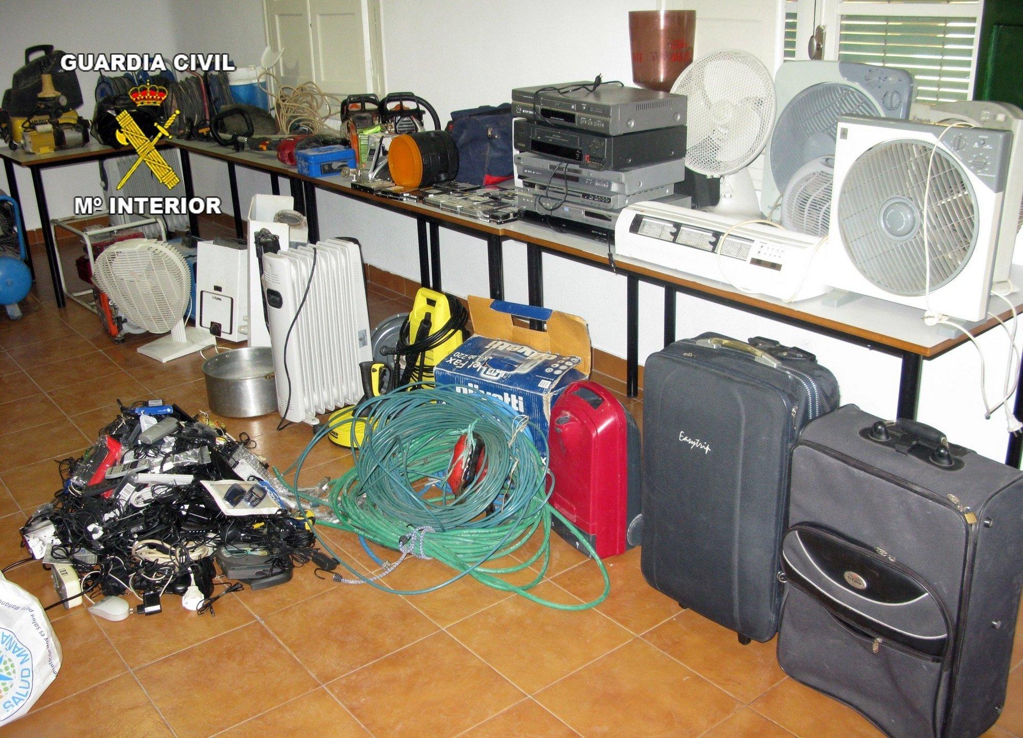 Detenidos 2 individuos por robar productos del campo en explotaciones agrícolas de Cieza