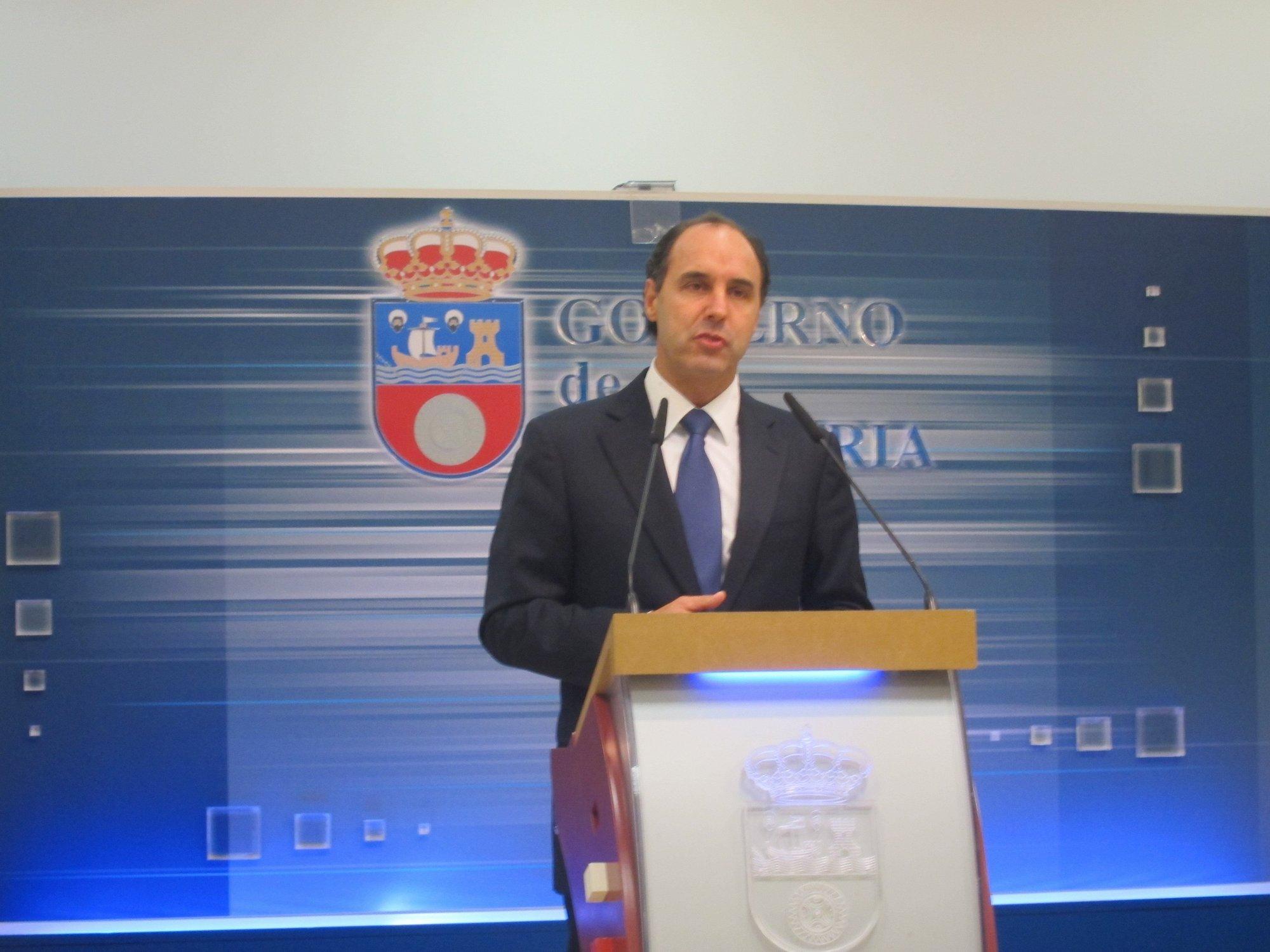 Diego, «preocupado» por los efectos sobre la UC de la paralización del crédito a Cantabria Campus Internacional