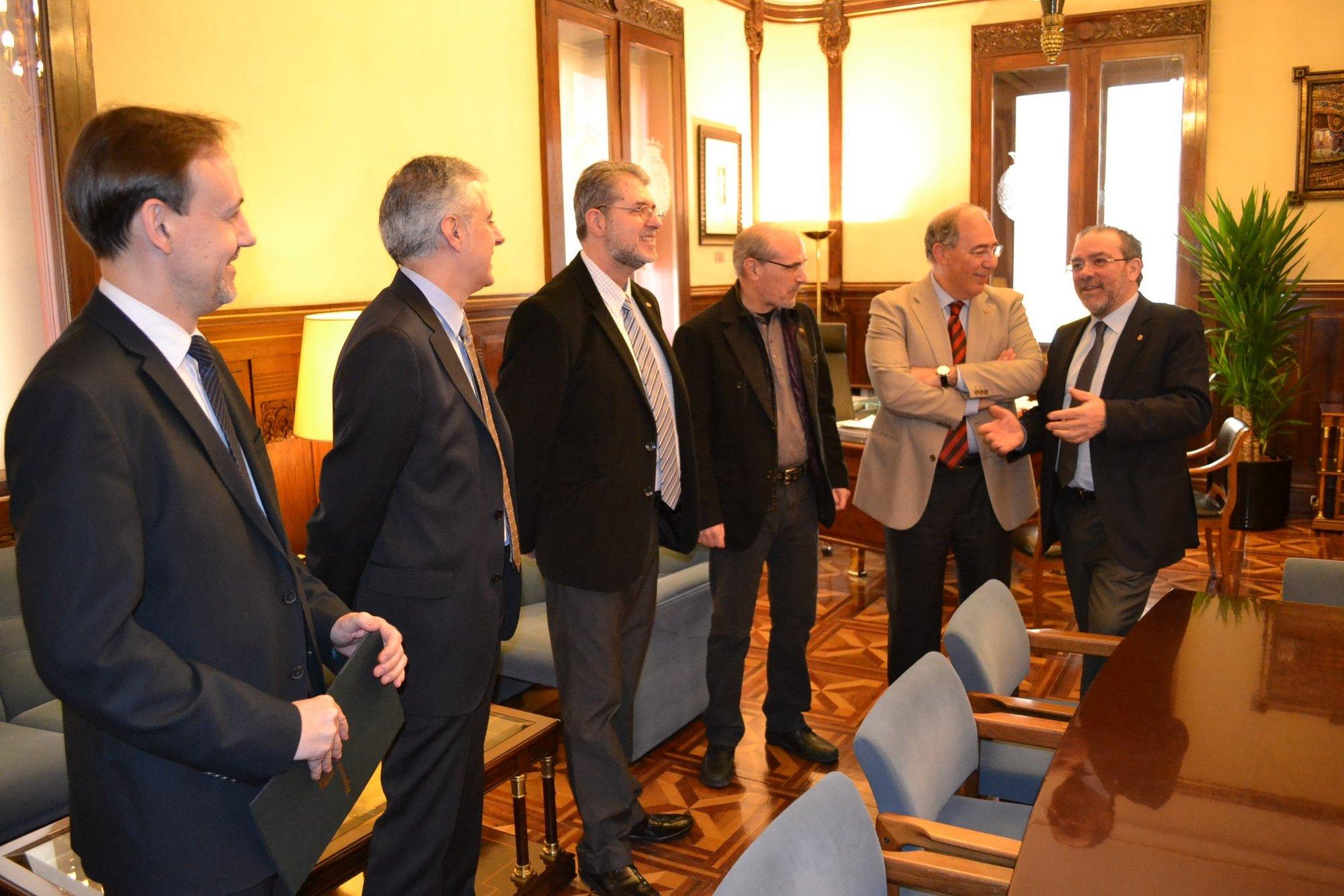 La Diputación de Lleida aporta 120.000 euros a la UdL