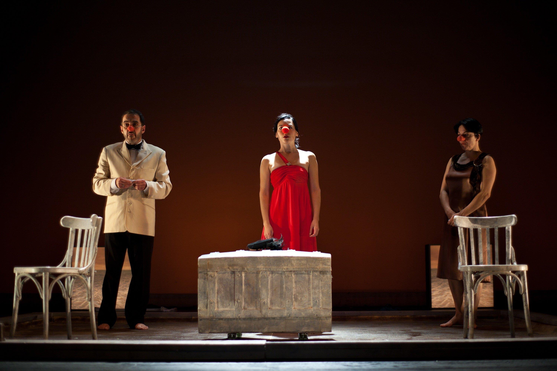 La obra »Los dos gemelos venecianos», de Distrito Teatro y el Hechizo Teatro, nominada al Max al Espectáculo Revelación