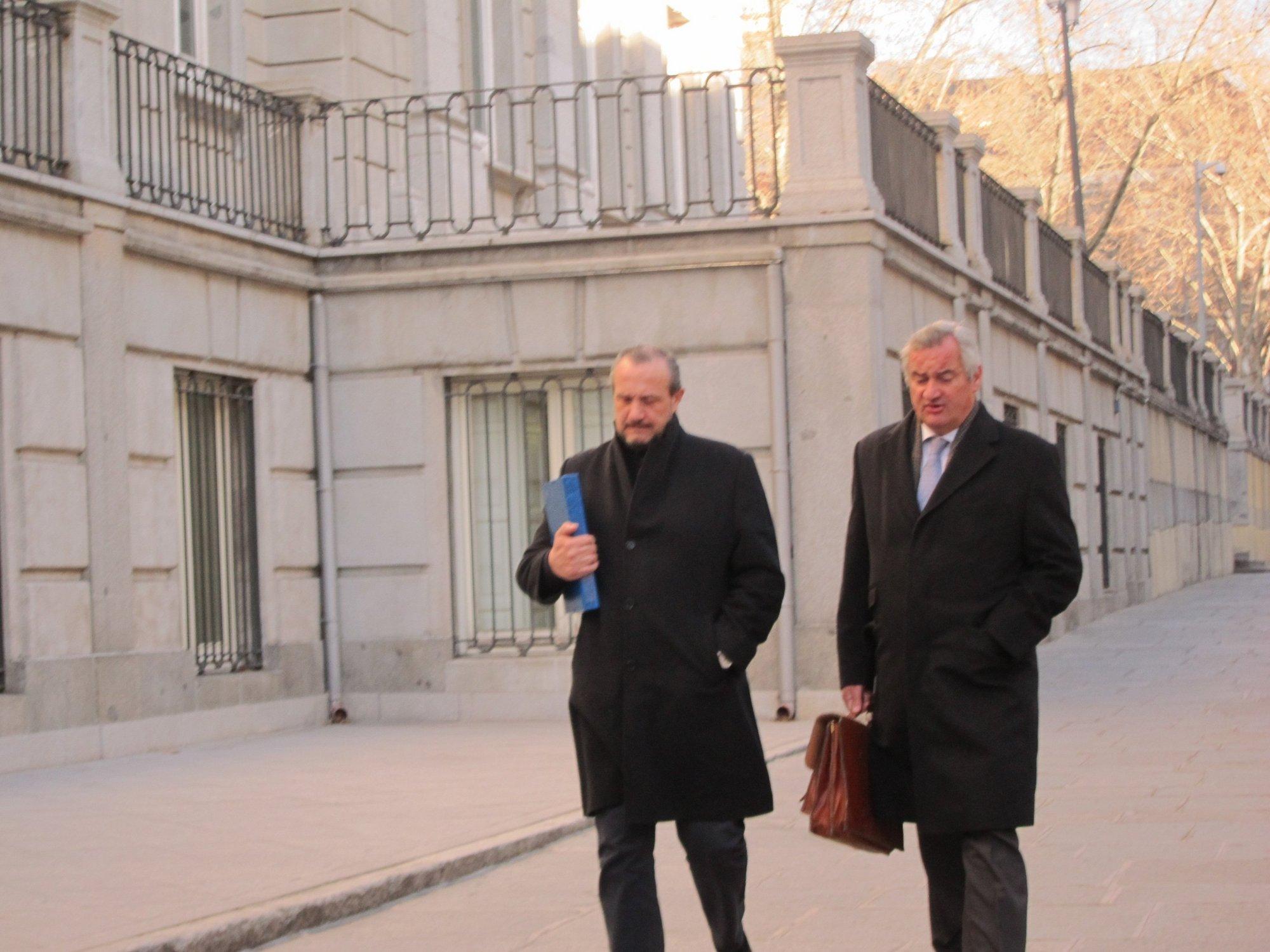 Dorribo se ratifica ante el TS en sus acusaciones contra el exministro, según su abogado