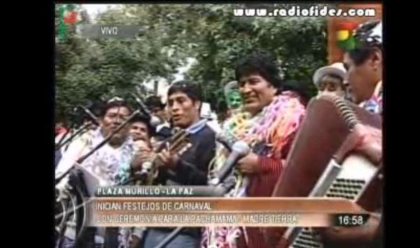 Evo Morales al más puro estilo Berlusconi