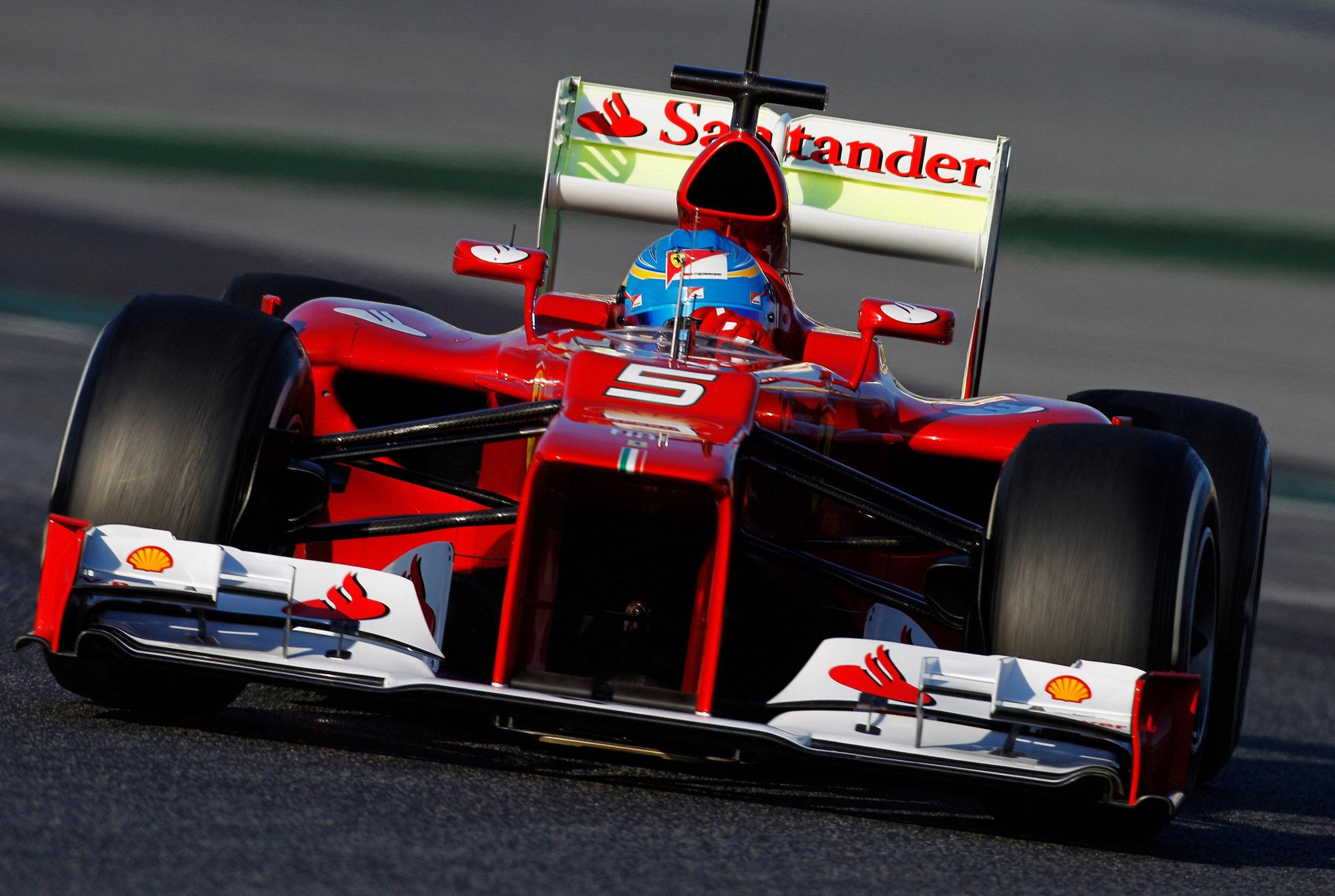 Alonso termina 5º en los entrenamientos matinales de Montmeló