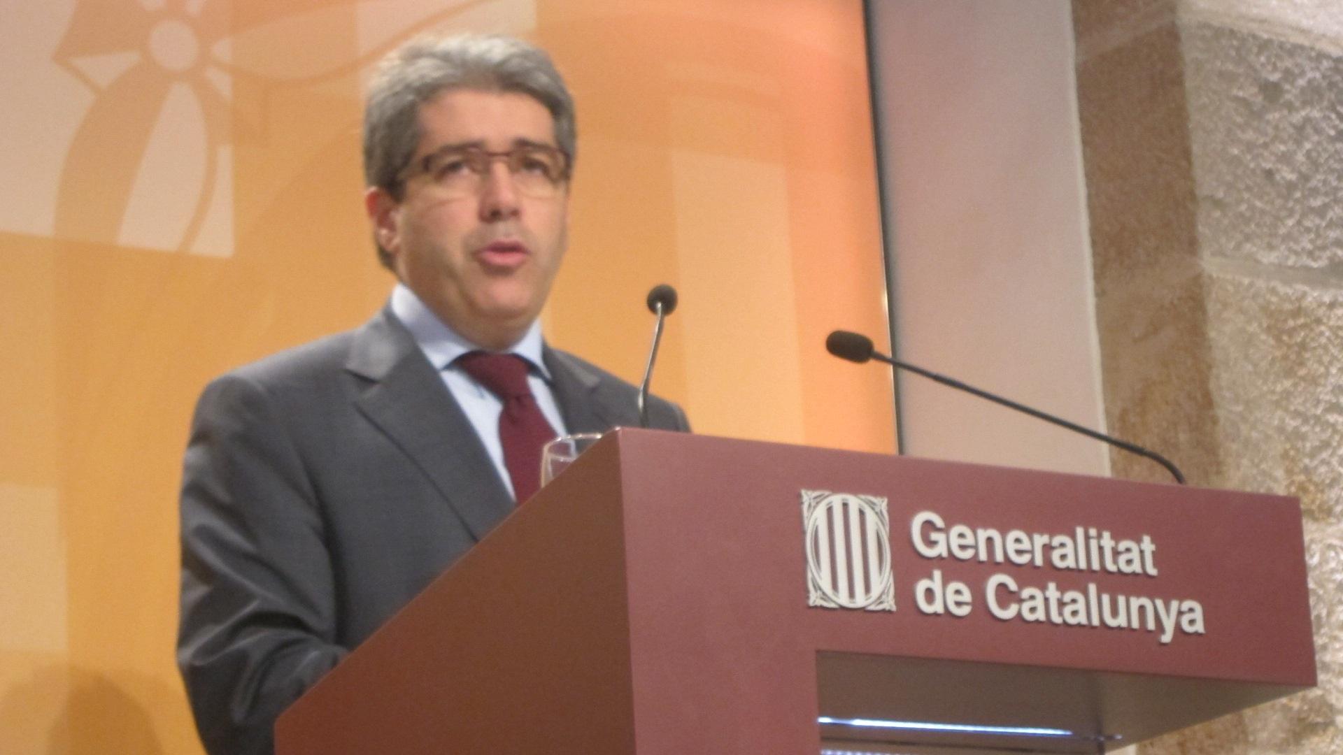 El Gobierno de Artur Mas reprocha al PSC que anteponga su «interés particular» al de los catalanes