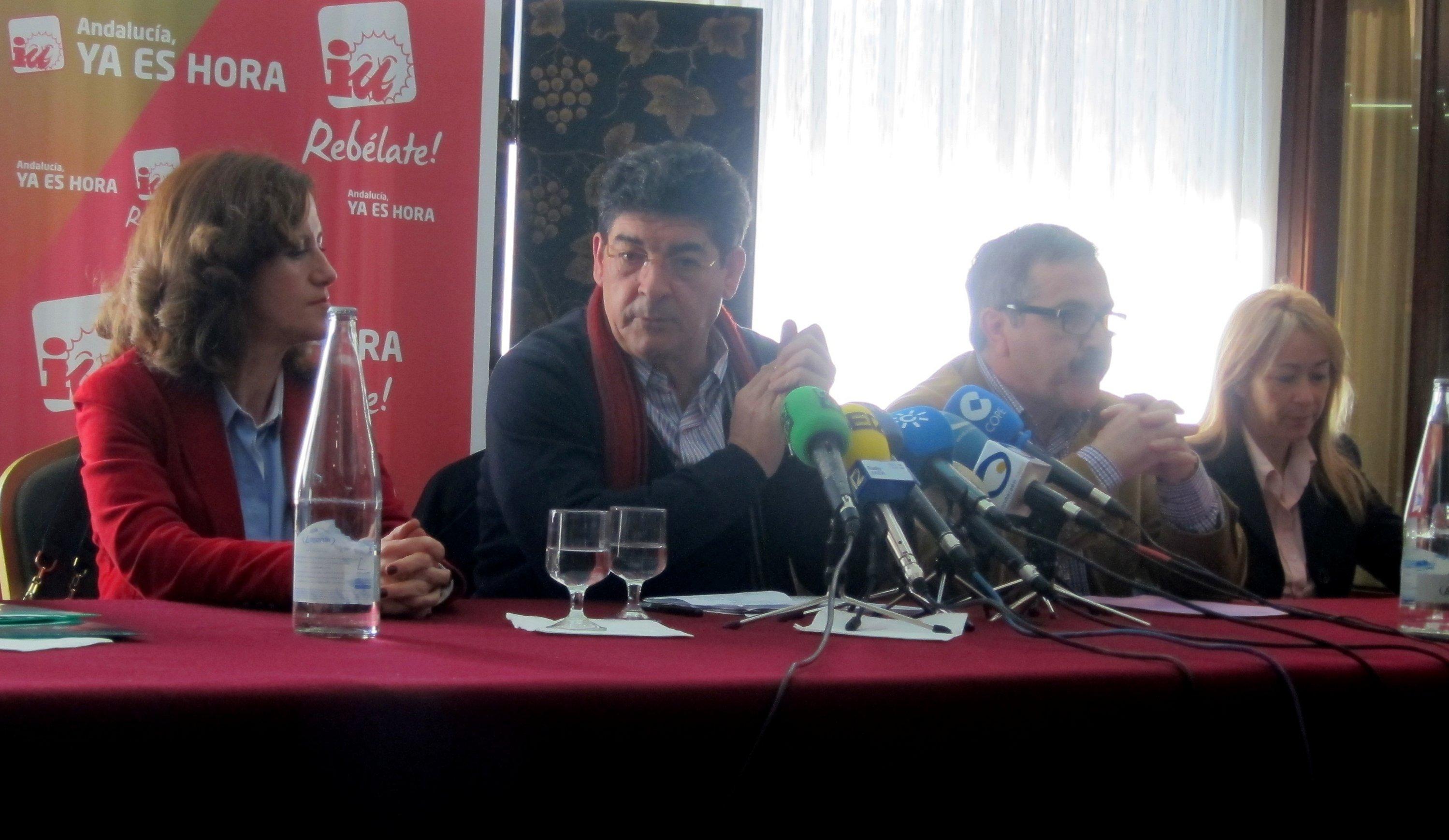 IU asegura que sondeos internos muestran que podrían «prácticamente» duplicar sus diputados en Andalucía