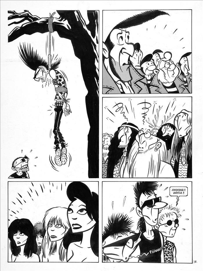 El Instituto Cervantes se abre al cómic con una exposición del dibujante Max