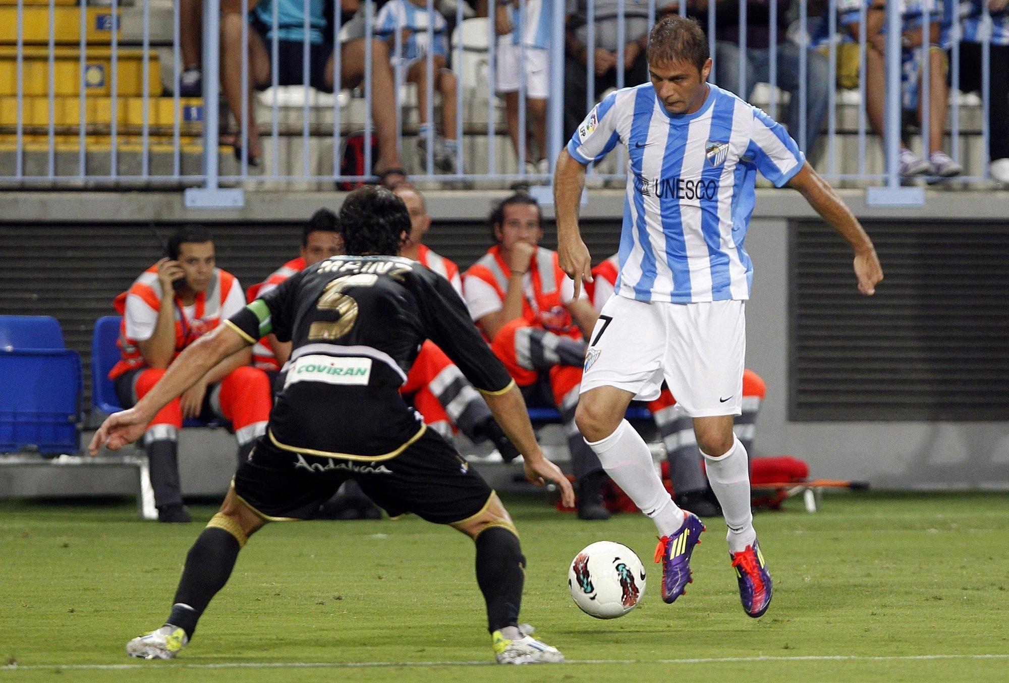 Joaquín (Málaga): «No es presión, la pelota fuera de casa no entra»