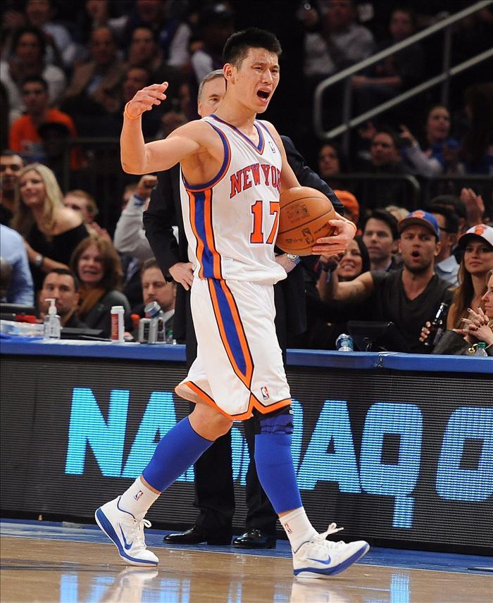 Marcas de ropa deportiva china ofrecen contratos de patrocinio a Jeremy Lin