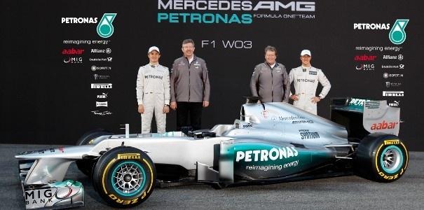 Mercedes presenta el »W03» de Schumacher