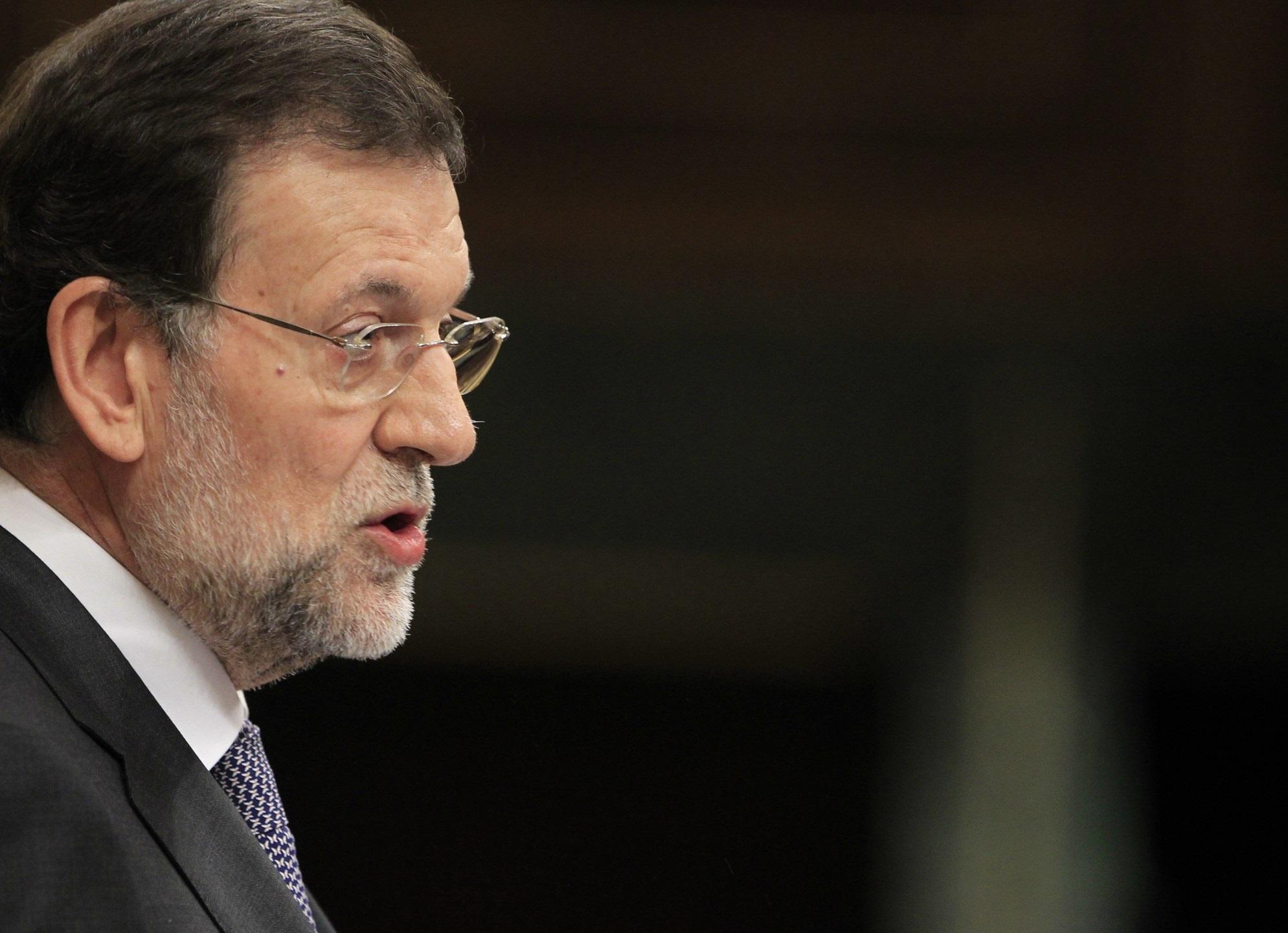 Rajoy pide mesura en Valencia y añade que la Policía tiene un trabajo que cumplir