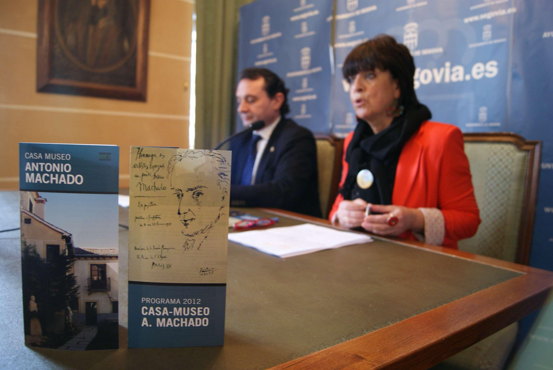 Segovia recibe hoy la presidencia de la Red de Ciudades Machadianas e inicia el 22 los actos de homenaje al poeta