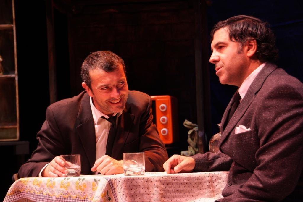 La obra »Oeste Solitario», de Produccións Teatrais Excéntricas, nominada al Max al Espectáculo Revelación