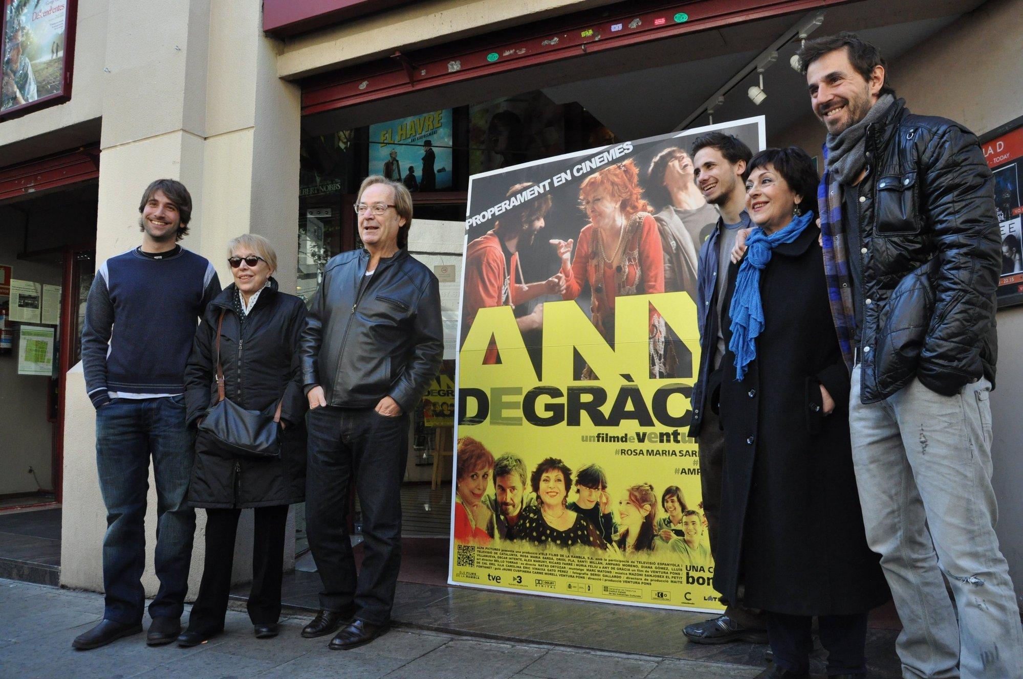 La nueva comedia de Ventura Pons »Any de Gràcia» llega para «olvidar los malos rollos»