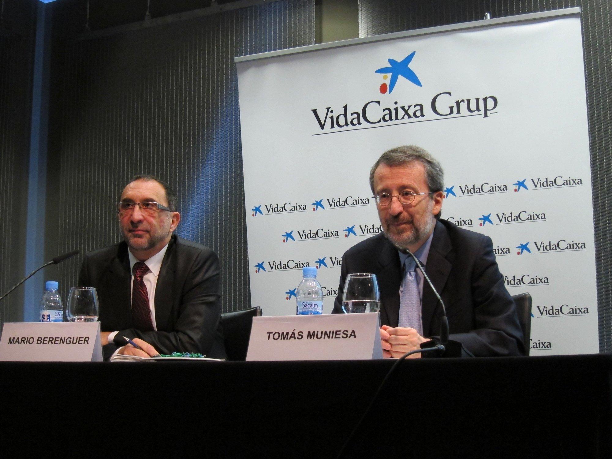 VidaCaixa ganó 947 millones en 2011, más del triple que en 2010 por extraordinarios