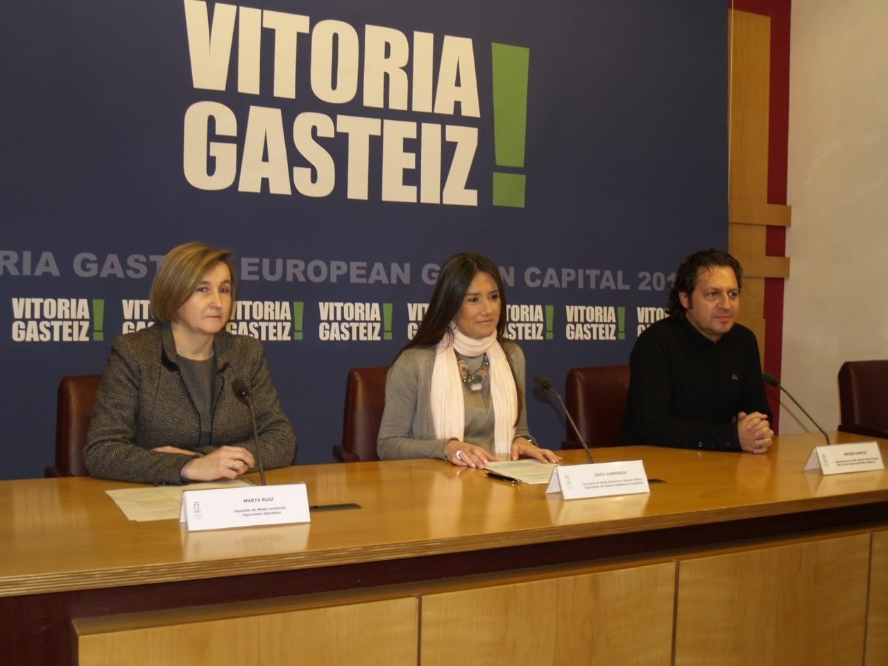 Vitoria acogerá entre el 20 y 22 de marzo un Encuentro Internacional sobre gestión del agua y desarrollo urbano