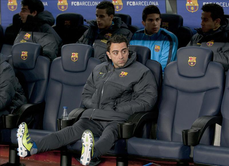 Xavi dice que el Barcelona quiere remontar, porque los diez puntos del ventaja del Madrid «son injustos»
