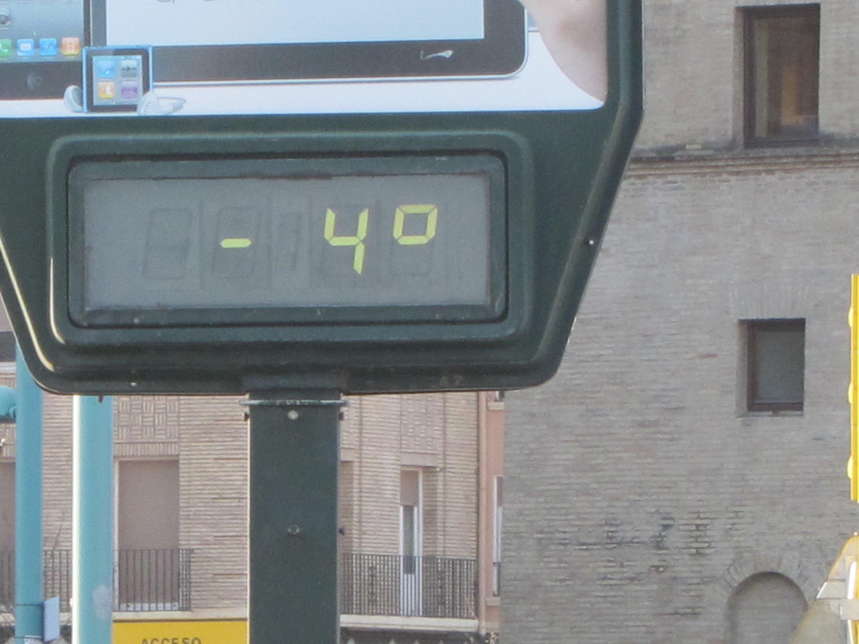 La alerta amarilla por temperaturas mínimas en Aragón se amplía hasta este miércoles
