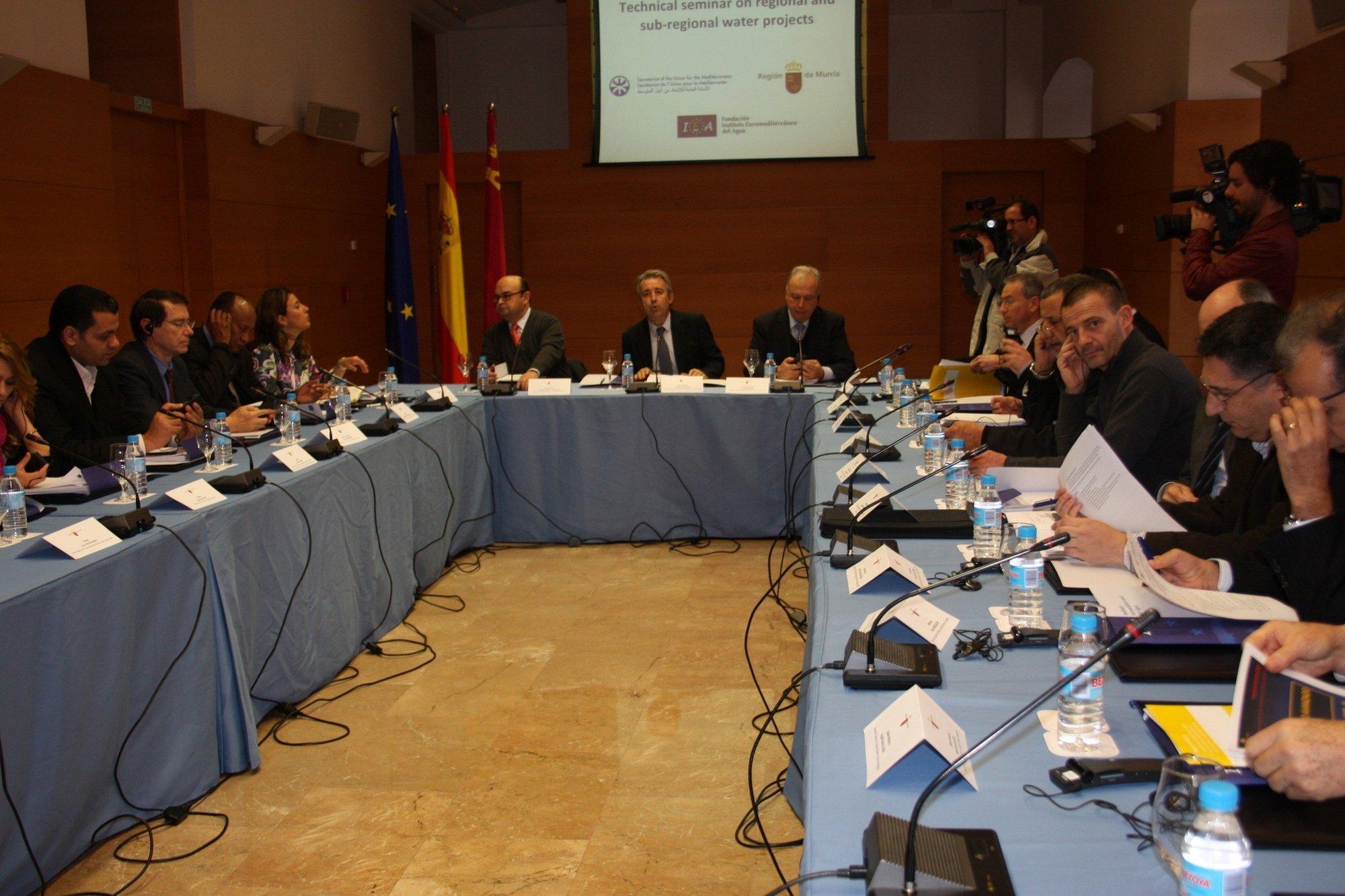 La gestión del agua en la Región de Murcia atrae a expertos de los países de la ribera mediterránea