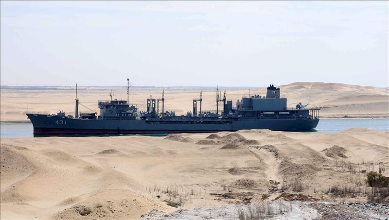 Dos barcos de guerra iraníes regresan de Siria a Irán por el canal de Suez