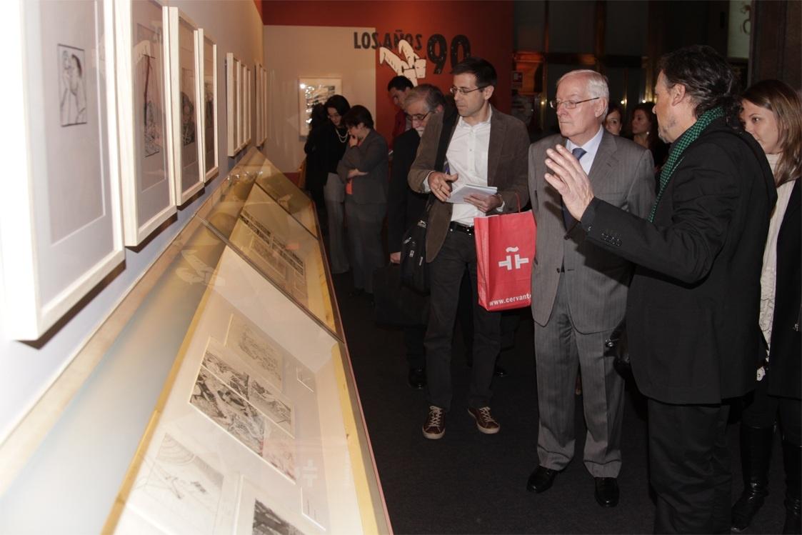 Una retrospectiva de Max acerca el cómic al Instituto Cervantes